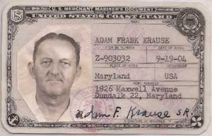 Captain Adam F. Krause Sr.